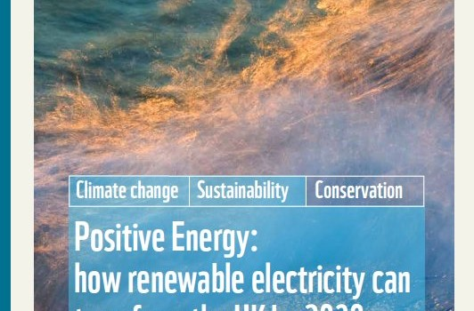 WWF-UK (2011): Positive Energy: how renewable electricity can transform the UK by 2030