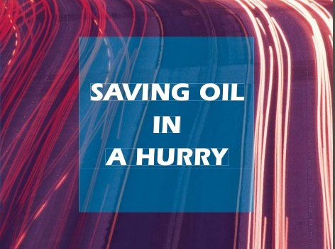 INTERNATIONAL ENERGY AGENCY (2005): Saving oil in a hurry