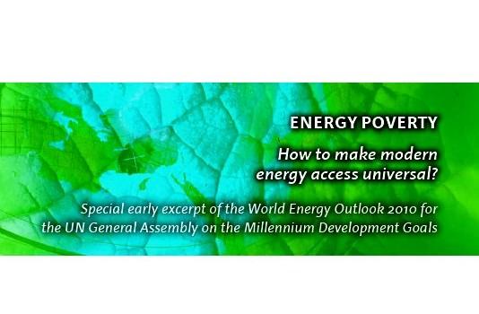 International Energy Agency (2010): Energy Poverty – How to make modern energy access universal?