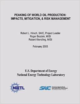 HIRSCH, ROBERT L.; BEZDEK, ROGER; WENDLING, ROBERT (2005): Peaking Of World Oil Production: Impacts, Mitigation, & Risk Management