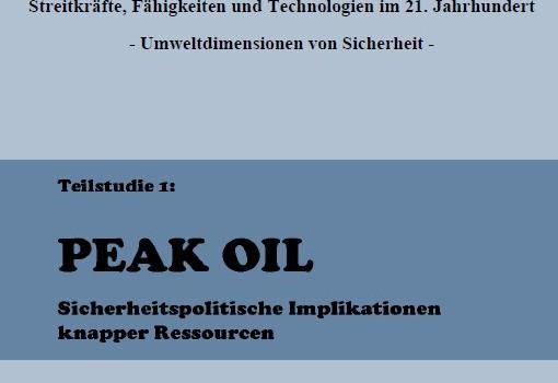 Zentrum für Transformation der Bundeswehr (2010): Peak Oil – Sicherheitspolitische Implikationen knapper Ressourcen